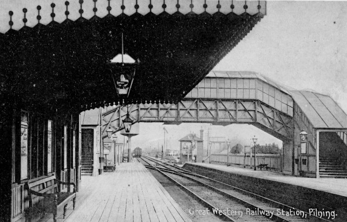 Old view of Pilning Main Line Station