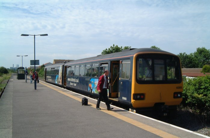 Severn Beach Station 2003
